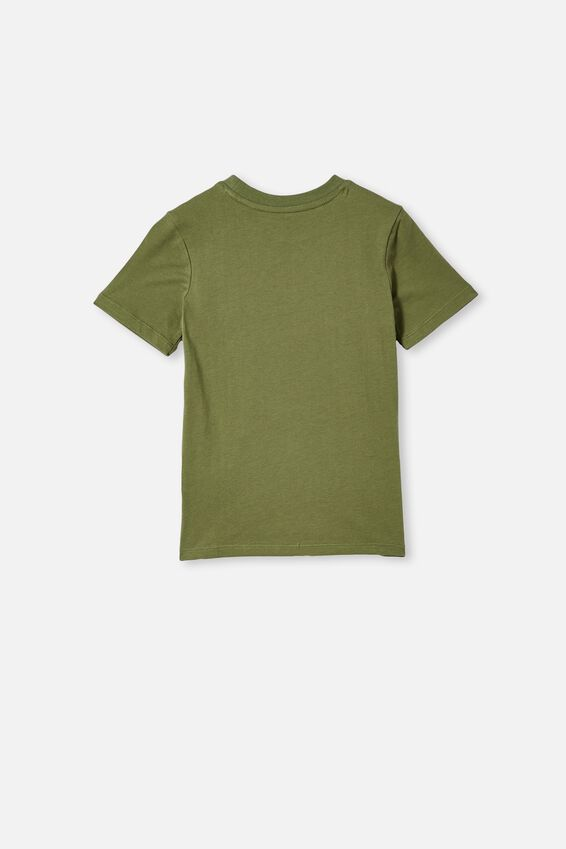 Max Skater Short Sleeve Tee, FOUR LEAF CLOVER / KEEP ON ROLLING