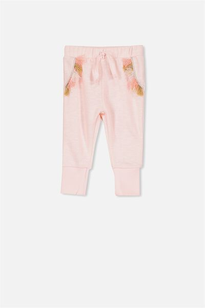 Shelby Trackpant, SHELL PEACH