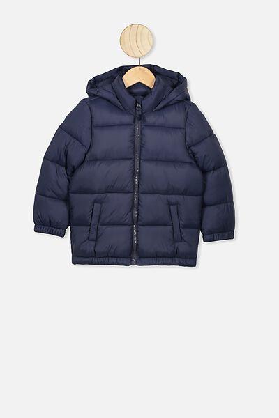 Frankie Puffer Jacket, NAVY BLAZER