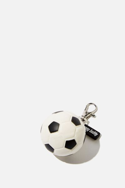 Sunny Buddy Squishy Bag Charm, SOCCER BALL