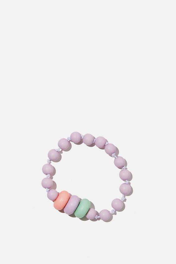 Mixed Beaded Bracelet, PASTEL OMBRE