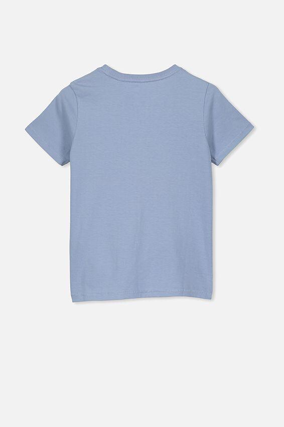 Core Short Sleeve Tee, DUSTY BLUE