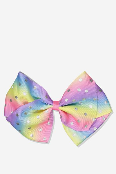 Statement Bows, RAINBOW OMBRE SPOT