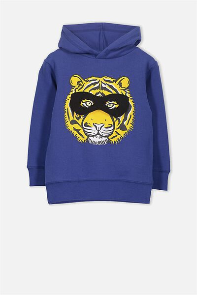 Liam Hoodie, INK BLUE/SUPER HERO TIGER