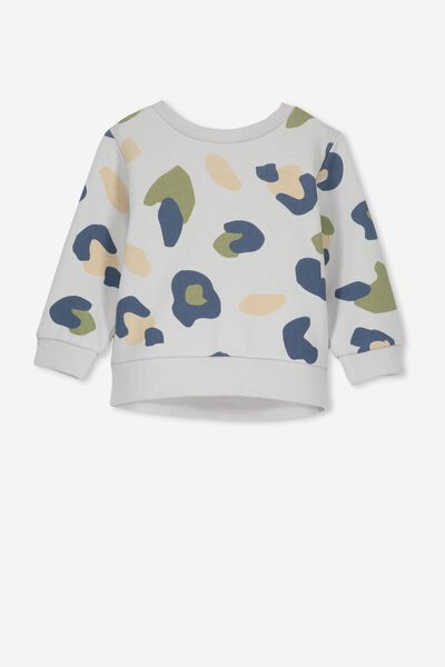 Billie Sweater, WINTER GREY/BLUE CAMO
