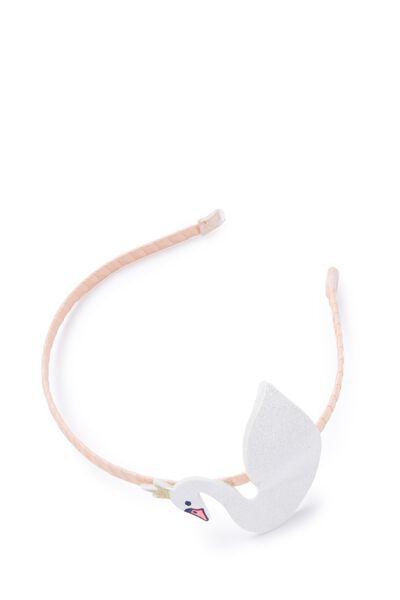 Critter Headband, SWAN