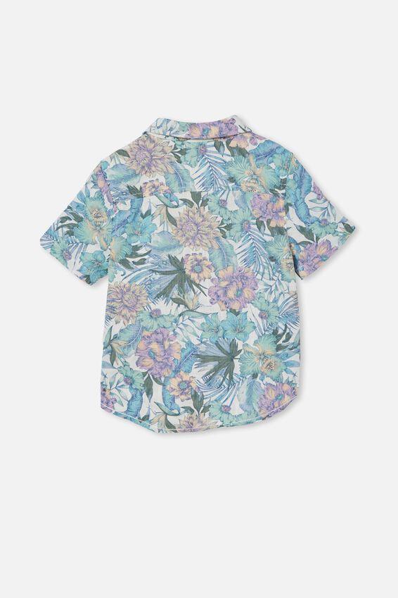 Resort Short Sleeve Shirt, TROPICAL FLORAL