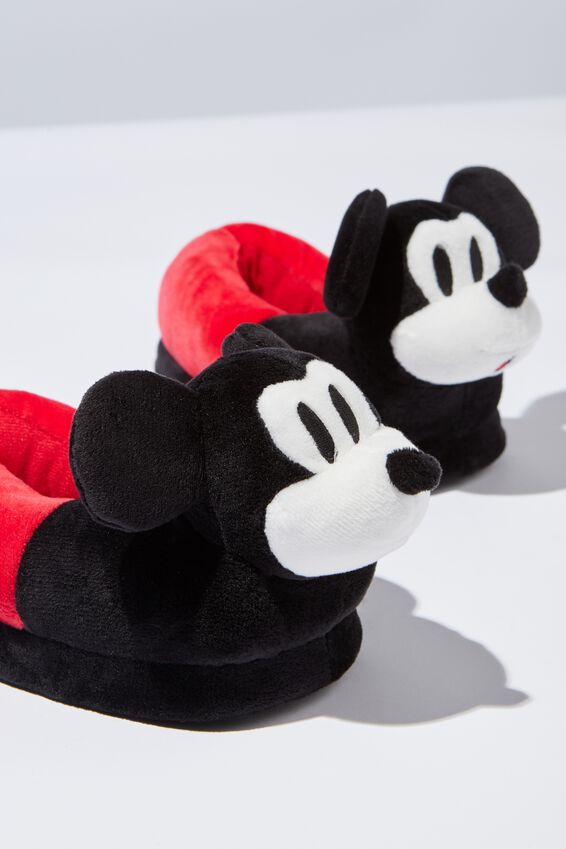 License Novelty Slipper, MICKEY