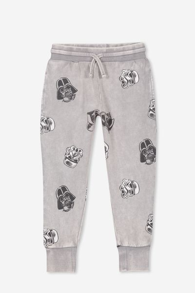 License Slouch Trackpant, LCN LU GREY WASH/STAR WARS