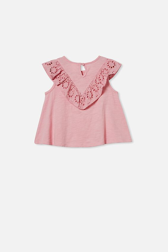 Juliette Short Sleeve Top, MARSHMALLOW