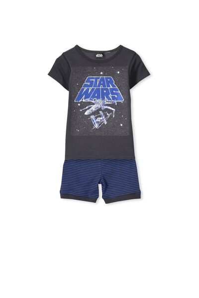 Joshua Ss Boys Pj Set, STAR WARS STRIPE
