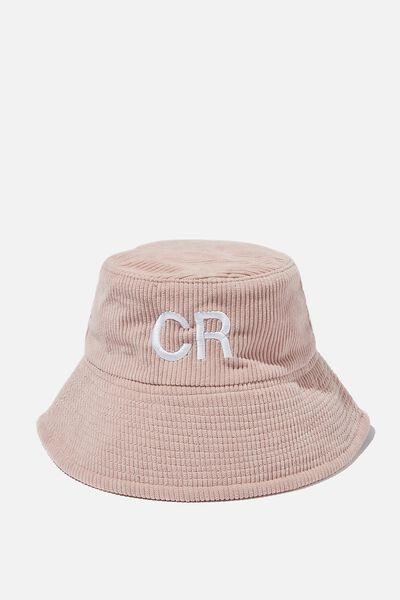 Personalised Kids Bucket Hat, ZEPHYR CORD