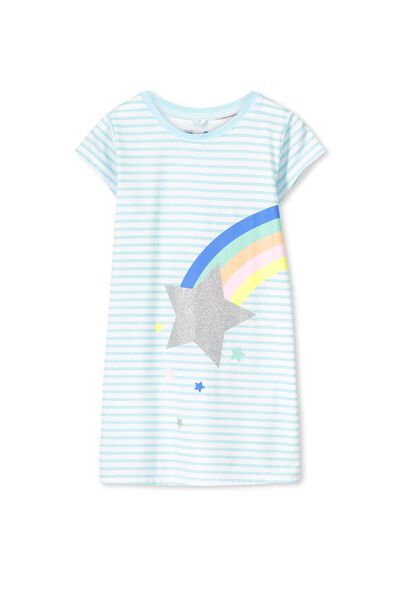 Jessica Tee Nightie, RAINBOW STARS