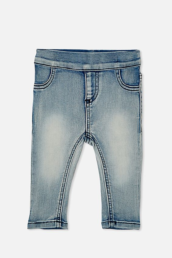 Sal Skinny Leg Jean, LIGHT BLUE WASH