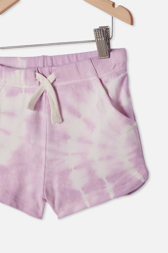 Gianna Knit Short, PALE VIOLET TIE DYE