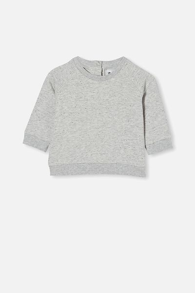 Harley Sweater, CLOUD MARLE/RABBIT GREY NEP