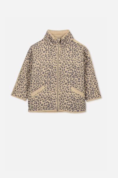Leah Oversize Quilted Jacket, ANIMAL