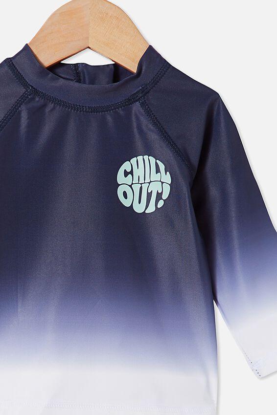 Freddie Rash Vest, NAVY BLAZER/CHILL OUT