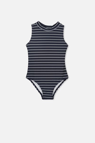 Rachael One Piece, NAVY BLAZER STRIPE