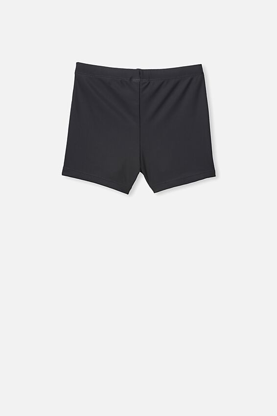 Billy Boyleg Swim Trunk, BLACK