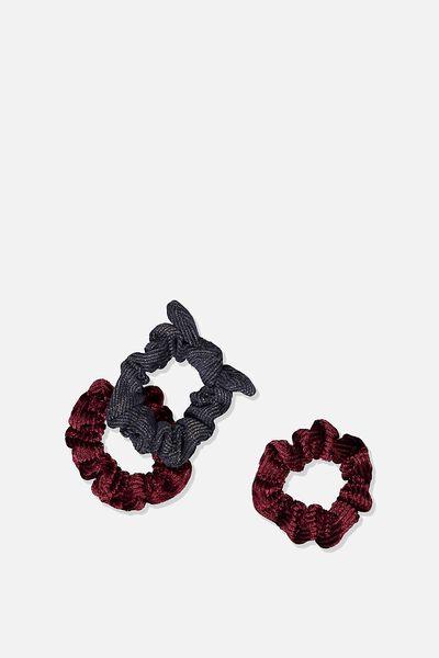 Mini Scrunchie, RED