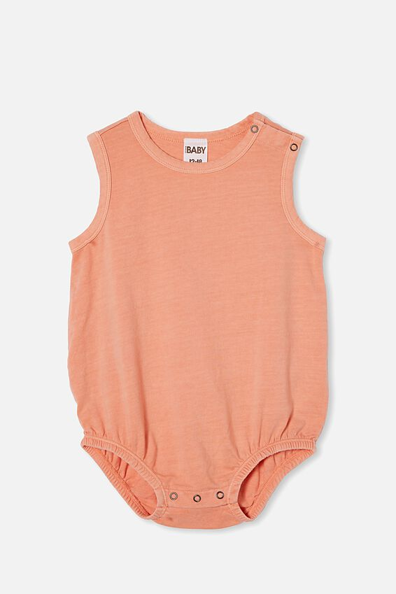 Lena Singlet Bubbysuit, MUSK MELON WASH