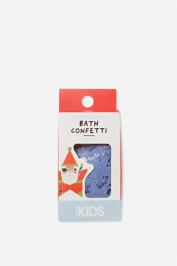 Kids Bath Confetti, BLUEBERRY STAR
