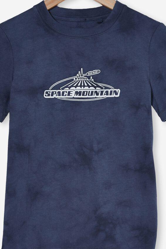 Disneyland Co-Lab Short Sleeve Tee, LCN DIS VINTAGE NAVY TIE DYE / SPACE MOUNTAIN