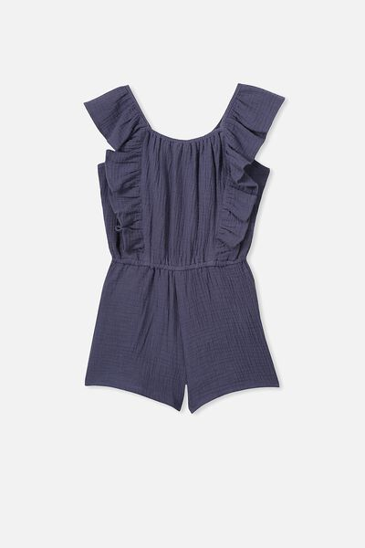 Kieri Playsuit, VINTAGE NAVY