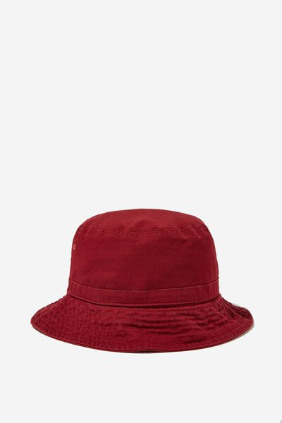 Kids Bucket Hat, VINTAGE BERRY