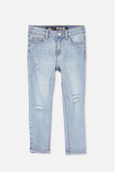 Boh Slim Leg Jean, CALI BLUE