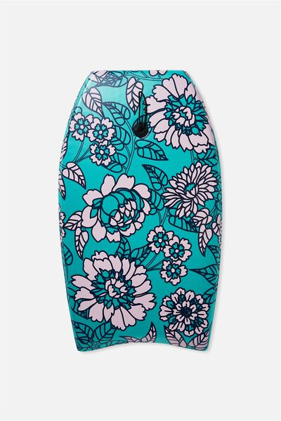 Kids Boogie Board, GREEN FLORAL