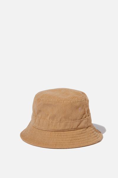 Kids Bucket Hat, WASHED STONE/CORD