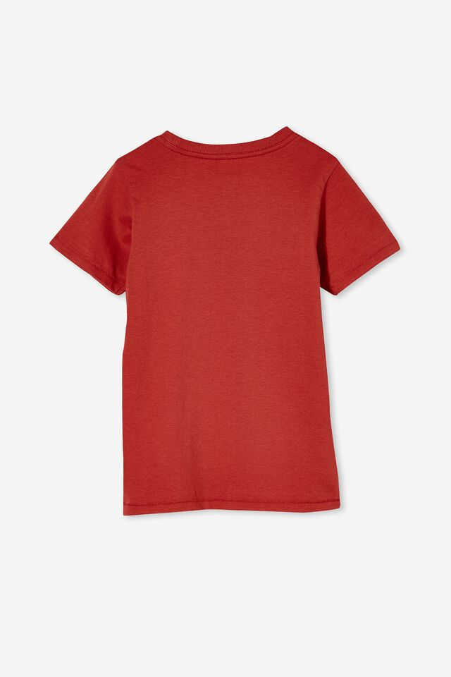 Max Short Sleeve Tee, RED BRICK/DOG