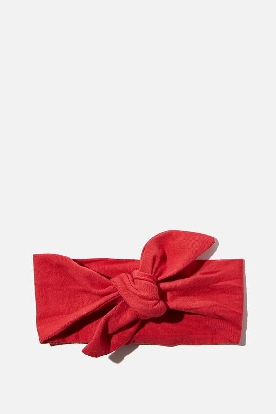The Tie Headband, LUCKY RED