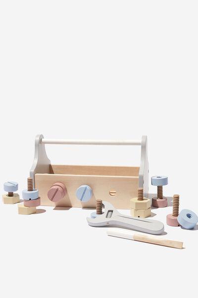 Sammy Wooden Toy, TOOL BOX