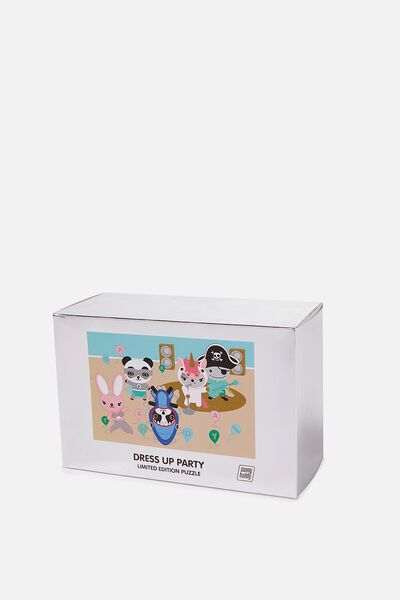 Sunny Buddy Puzzle, PARTY DRESS UP