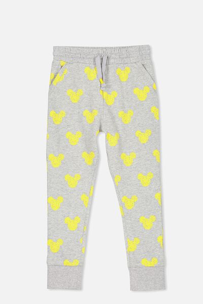 Lux Trackpant, MICKEY HEADS/LIGHT GREY MARLE