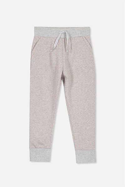 Kallie Trackpant, LIGHT GREY MARLE/SPARKLE RAINBOW
