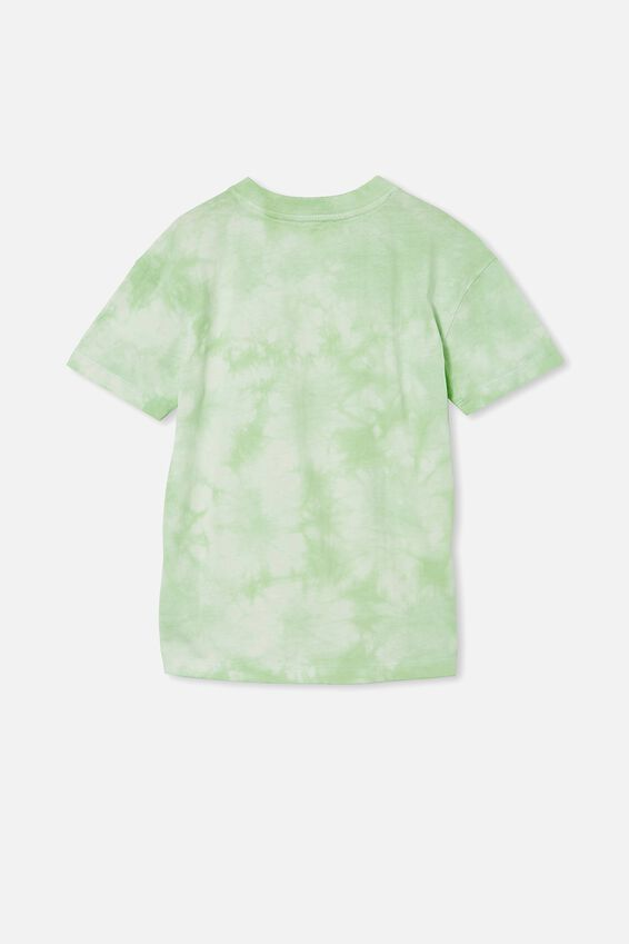 Scout Drop Shoulder Short Sleeve Tee, RETRO WHITE / WASHED SPEARMINT TIE DYE