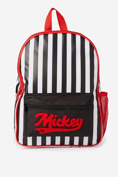 License Backpack, MICKEY/STRIPE