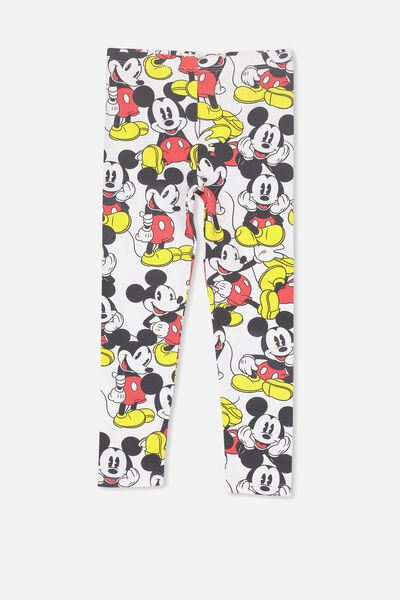 Huggie Tights, WHITE/MICKEY YARDAGE