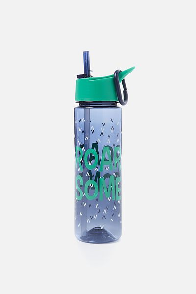 Summer Drink Bottle, GREEN ROAR