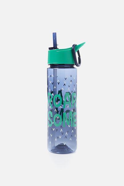 Summer Drink Bottle, GREEN ROAR