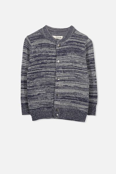 Christopher Cardigan, NAVY MARLE TWIST