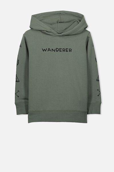 Liam Hoodie, WINTER GREEN/WANDERER