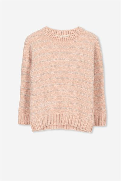 Cherrie Knit Jumper, DUSTY PINK