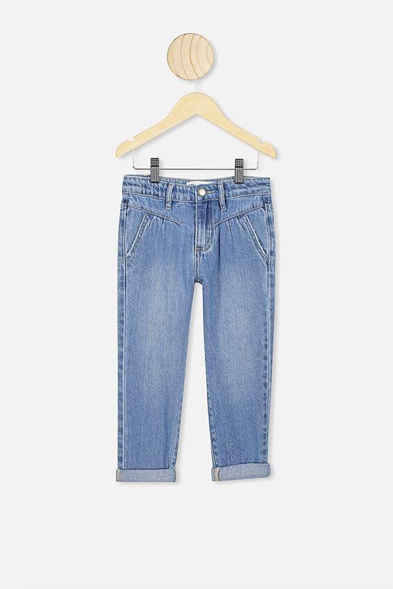Brooke Slouch Yoke Jeans, WEEKEND WASH