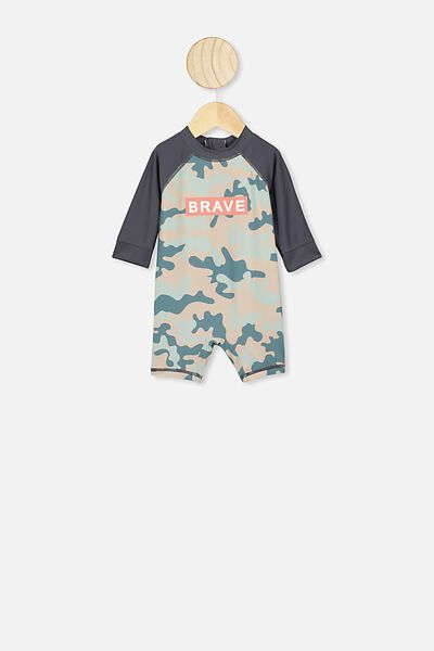 Harris One Piece, DEEP POOL BLUE/CAMO BRAVE
