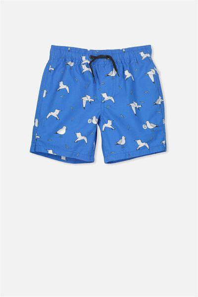 Murphy Swim Short, MALIBU BLUE/SEAGULLS